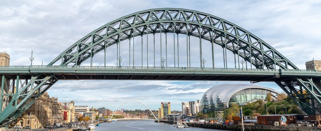 Ponte The Tyne, em Newcastle
